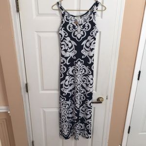 Jon and Anna casual dress black and white nwt